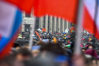 Moscow, protests, facial recognition, crowds