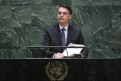jair bolsonaro, brazil, environment, UN General Assembly