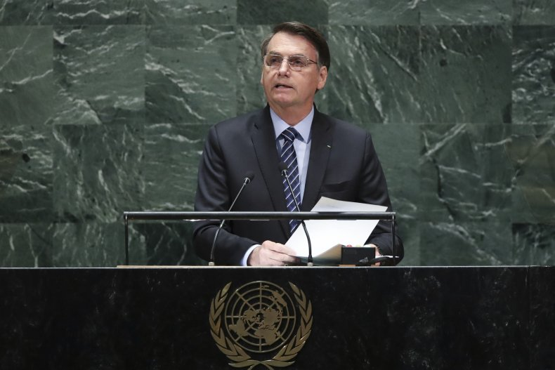 jair bolsonaro, brazil, environment, UN General Assembly