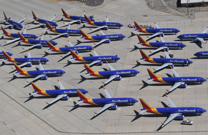 Southwest Airles 737 MAX