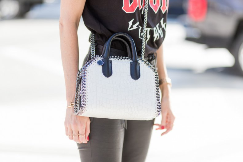 Chain straps bag