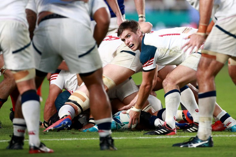 AJ MacGinty, Rugby World Cup