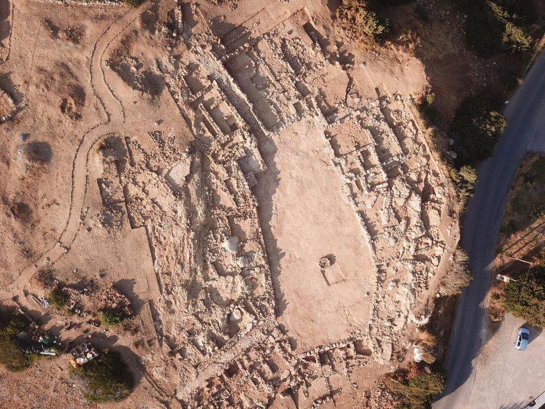 Crete, archaeological complex