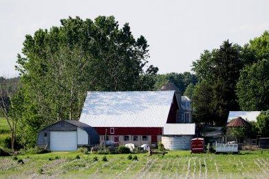 Farm in Hartford, Wisconsin