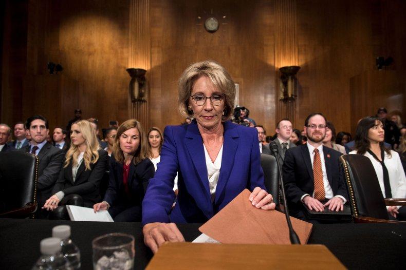Betsy DeVos confirmation hearing