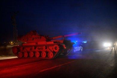 turkey military syria kurds attack