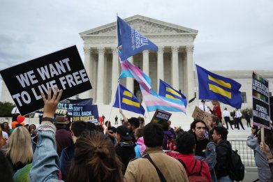 Supreme Court Hears Arguments On Gender Identity Workplace Discrimination