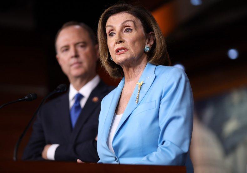 Nancy Pelosi and Adam Schiff