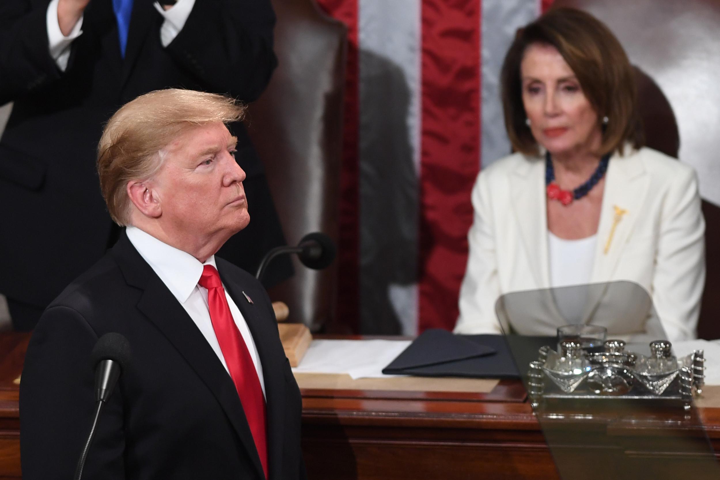 Nancy Pelosi Warns Trump Against Harassing Whistleblower