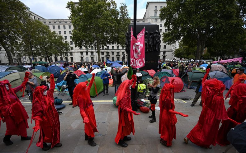extinction rebellion, climate change, protest, England