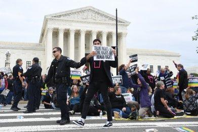 Supreme Court LGBTQ Protest