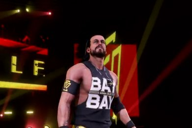 adam cole wwe 2k20 entrance
