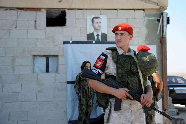 russia military syria assad