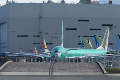 Boeing 737 Max Aircraft