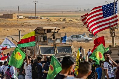 us military syria kurds border turkey