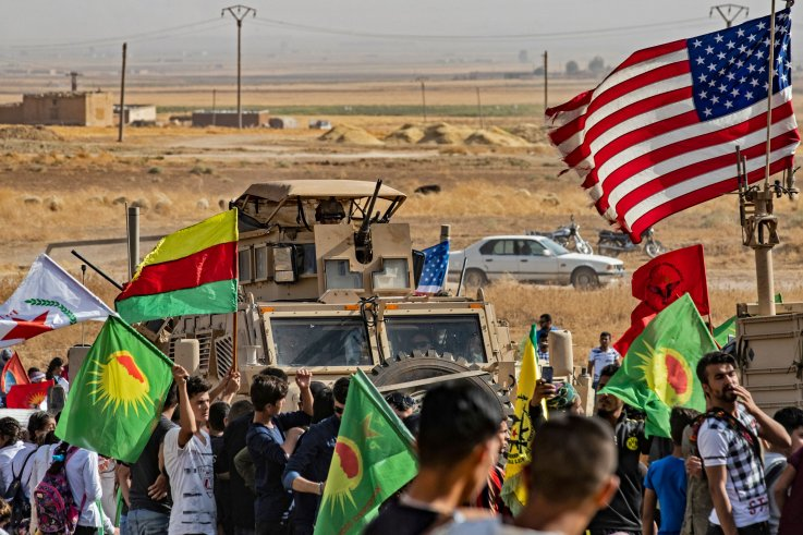 us military syria kurds border turkey