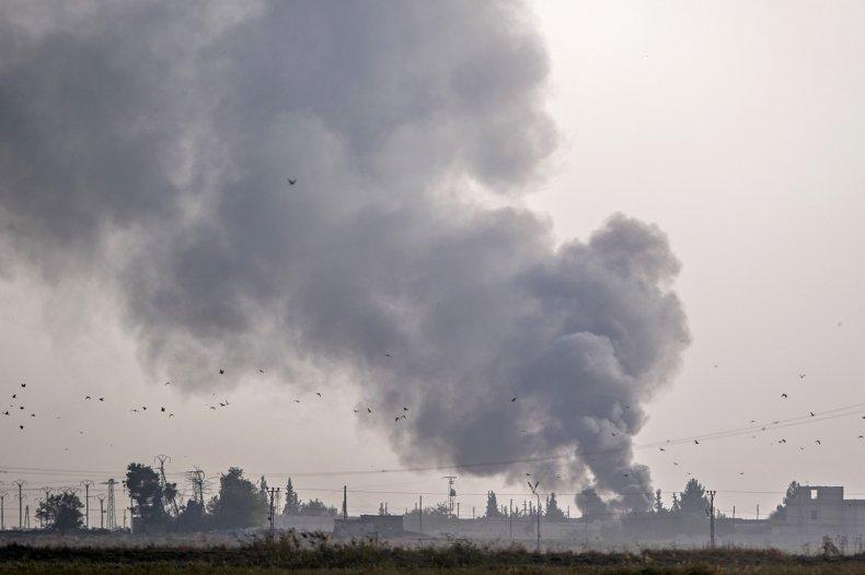 turkey military strikes border syria kurds
