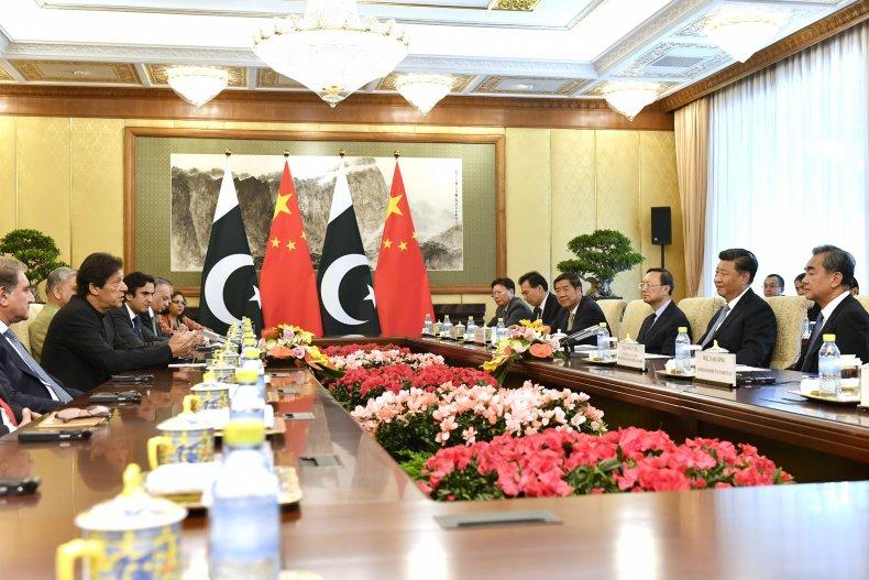 pakistan imran khan china xi jinping