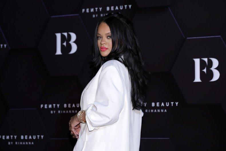 Rihanna slams Trump