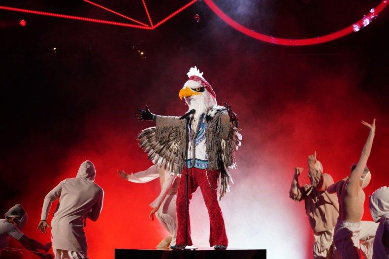 Eagle The MAsked Singer