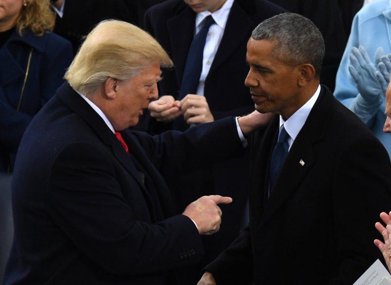 Donald Trump Barack Obama Tweet
