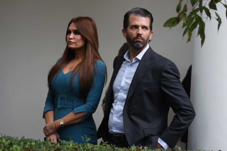 Trump and Guilfoyle