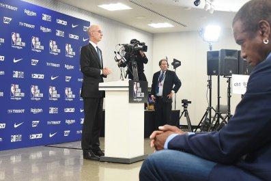 NBA Adam Silver Japan press conference
