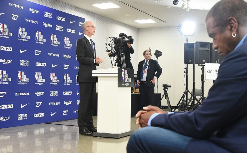 NBA Adam Silver Japan press conference
