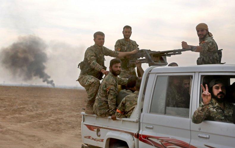 syria rebels turkey border kurds conflict