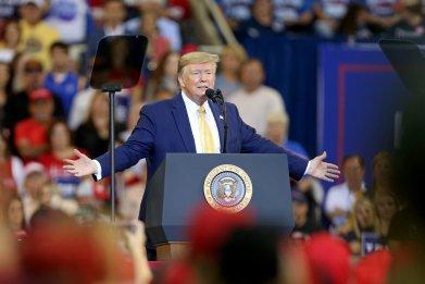 Trump rally Louisiana