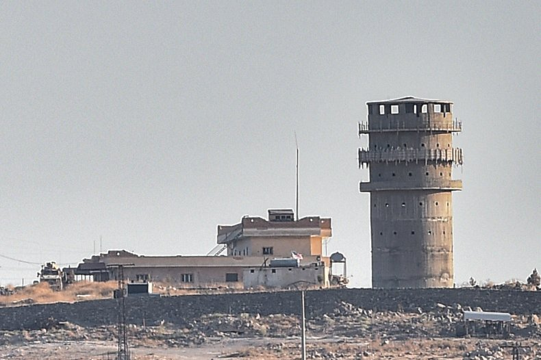 us military post syria border turkey