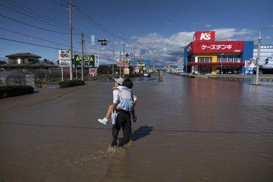 Typhoon Hagibis Hits Japan