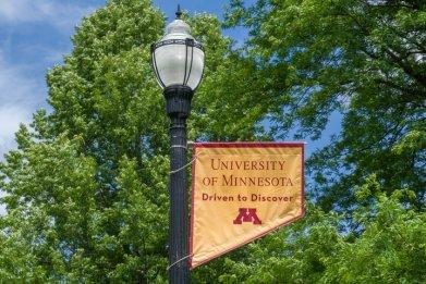 File photo: University of Minnesota sign
