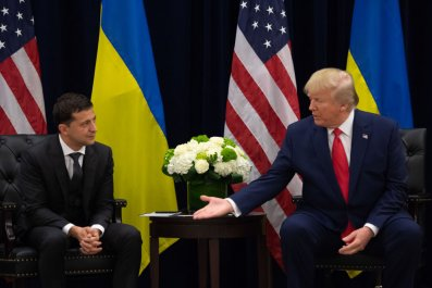 Zelensky and Trump