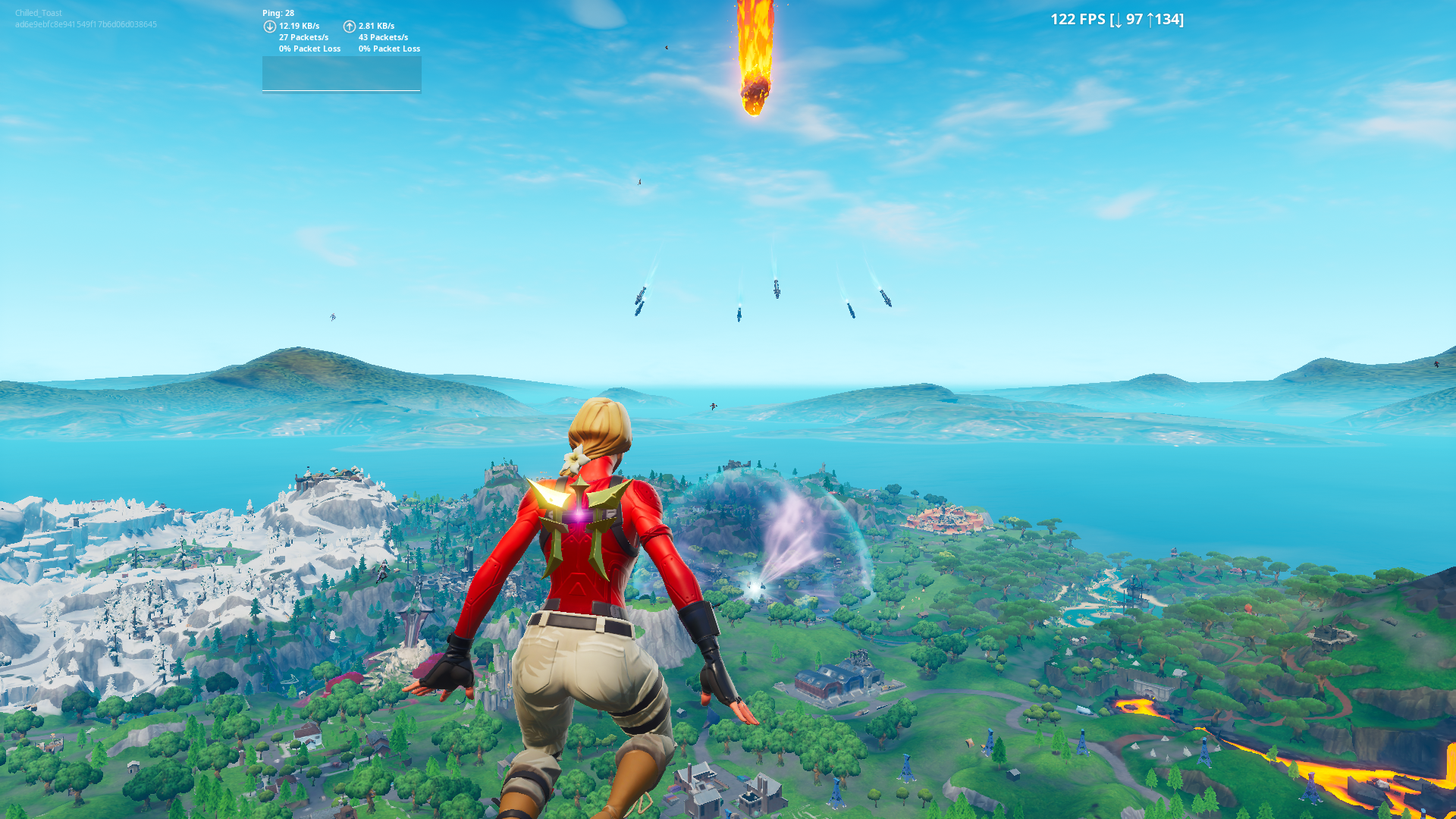 Fortnite The End Rocket Event Takes Down Game Adds New Map
