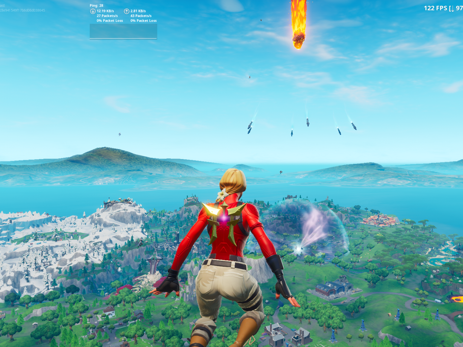Fortnite The End Rocket Event Takes Down Game Adds New Map Ends Season 10