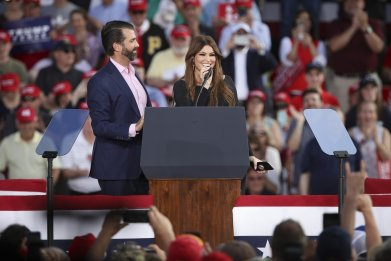 Donald Trump Jr. Kimberly Guilfoyle