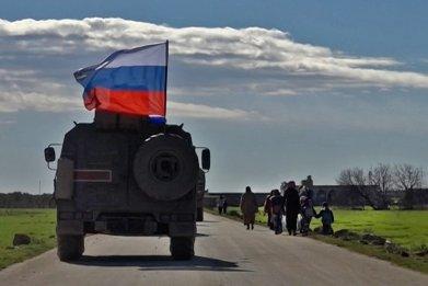 russia military vehicle north syria