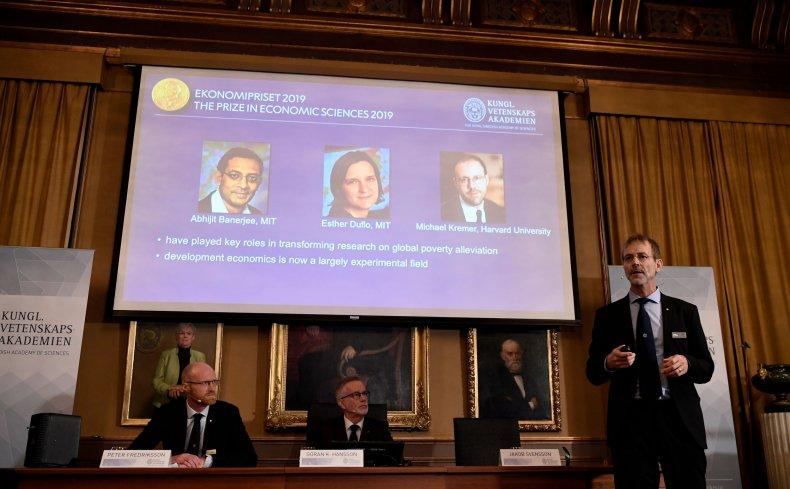 Nobel Prize Economics 2019 Banerjee Duflo Kremer