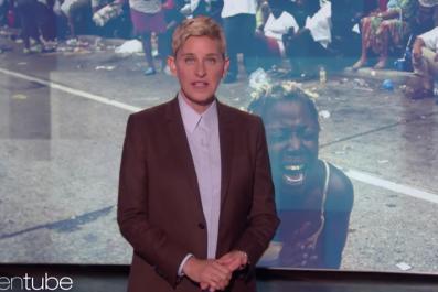 Ellen Show Hurricane Katrina