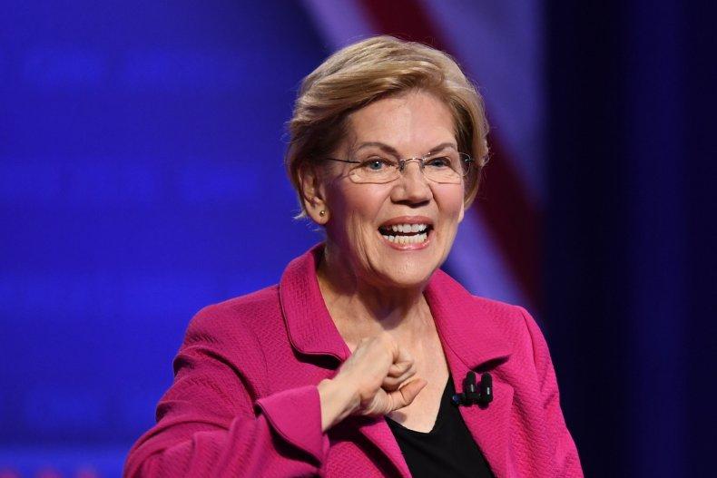 Elizabeth Warren 2020 poll health age Trump