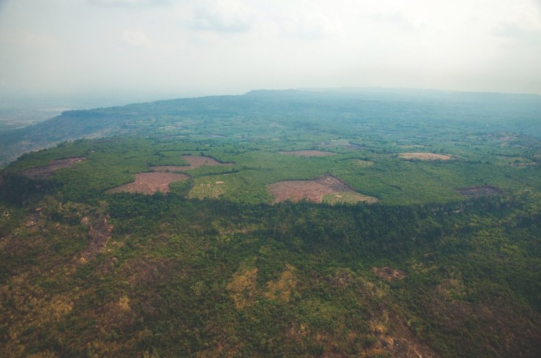 Phnom Kulen plateau