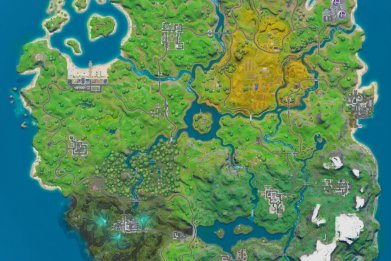 fortnite new map