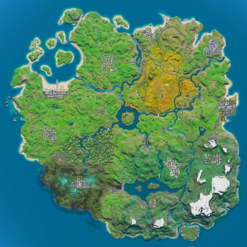 fortnite new map
