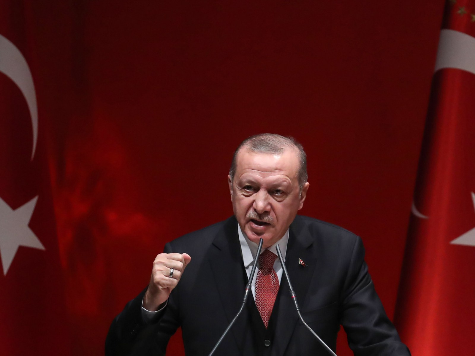 Turkeys Erdogan Defends Syrian Offensive In Op Ed Slams
