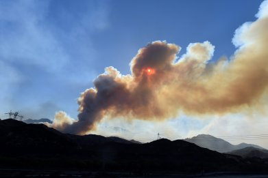 California Wildfires Sparks Concern Over Unhealthy Air Quality