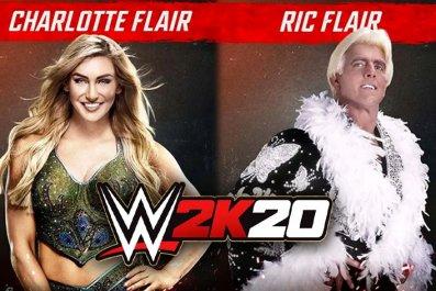 WWE 2K20 Ric Charlotte Flair