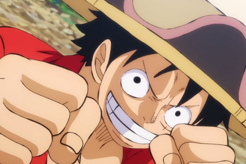 luffy one piece stampede exclusive clip