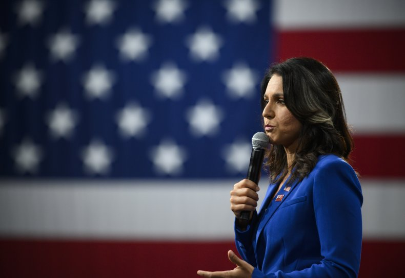 Tulsi Gabbard Outlier foreign policy