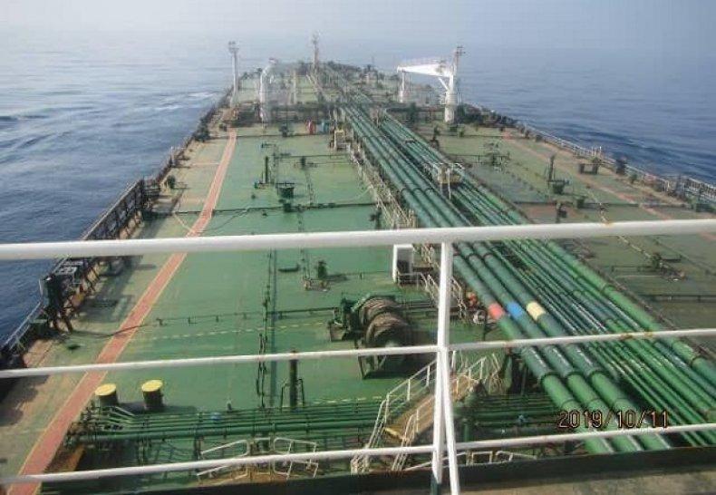 iran blast oil tanker explosion saudi